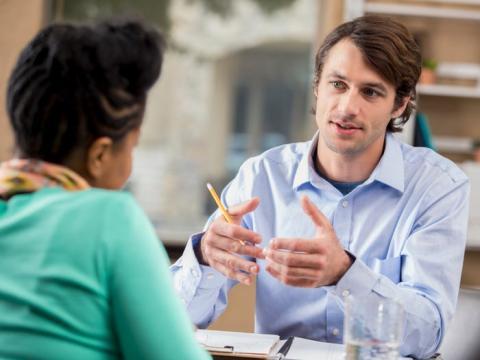 Lo importante es guiar a tu entrevistador por tu proceso de pensamiento.