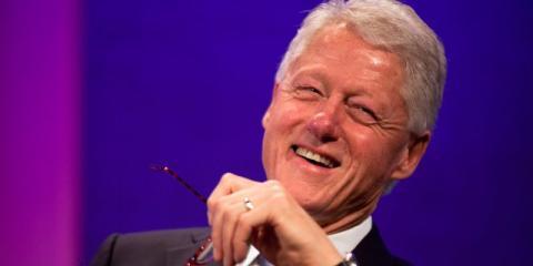 Se dice que Bill Clinton es un hombre extrovertido.