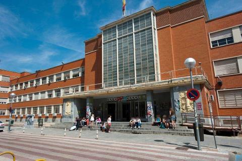 Facultad de derecho de la Universidad Complutense de Madrid.