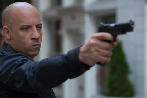 "Vin Diesel como Dom Toretto en ""Fast & Furious 8""."