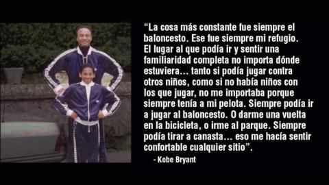 Frases inspiradoras de Kobe Bryant