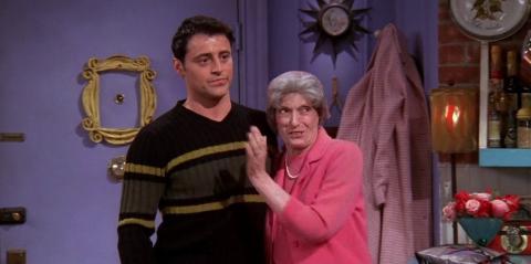 Friends - Joey y su abuela