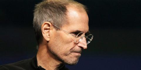 Steve Jobs, ex CEO de Apple, medía más de 1,82.