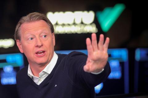 Hans Vestberg, CEO de Verizon, 2019.