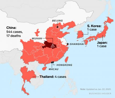 Here are the symptoms of the deadly Wuhan coronavirus and when you should be worried