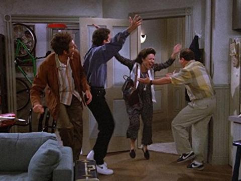 Un icónico momento de Seinfeld