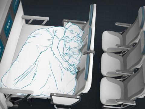 Innovators are also looking at tackling comfort in the economy cabin.