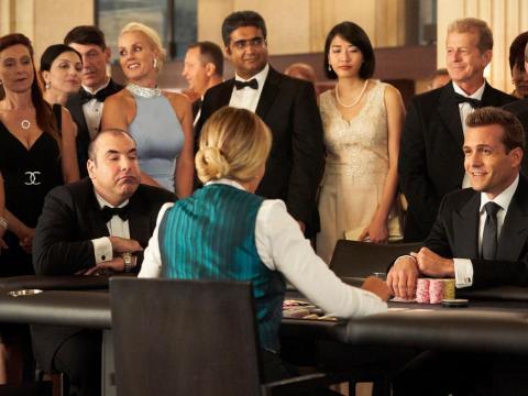 """Una escena de la octava temporada de """"Suits."""""""