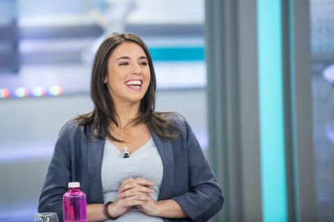 Irene Montero, en una entrevista de AR.