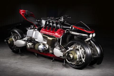 It's also an electric motorcycle...