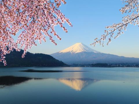Mount Fuji en Japón.