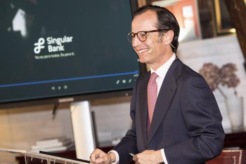 Javier Marín, CEO de Singular Bank.