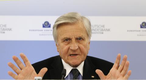 Jean-Claude Trichet, gobernador del BCE hasta 2011.