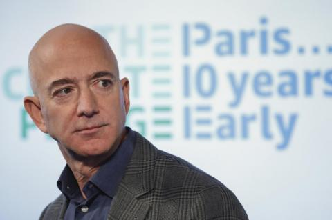 Jeff Bezos threw his weight behind the US military.
