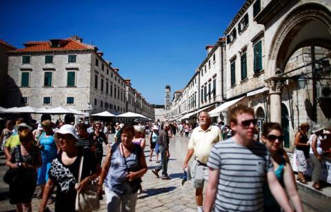 'Juego de tronos' también ha llenado de turistas Dubrovnik (Croacia).