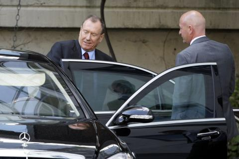 Juergen Schrempp, CEO de Daimler Chrysler.