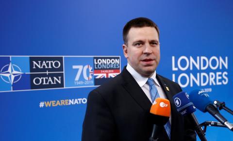 Juri Ratas, primer ministro estonio.