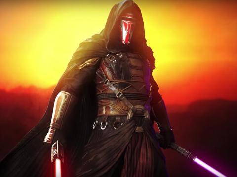 """Darth Revan fue originalmente considerado parte del universo expandido de """"La Guerra de las Galaxias"""". Apareció en el popular juego BioWare de 2003."""
