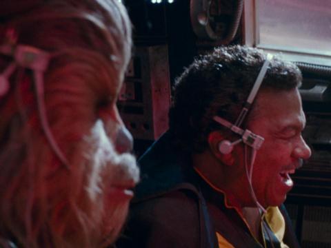 """Lando ha sufrido mucho después del """"Retorno del Jedi""""."""