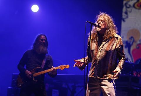 Robert Plant, líder de led Zeppelin
