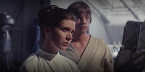 Leia siempre había entrenado para convertirse en Jedi.