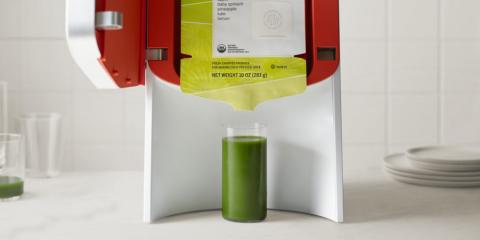 Una máquina de zumos de Juicero