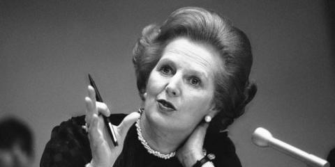 Margaret Thatcher recibió entrenamiento para hacer que su voz sonara más profunda