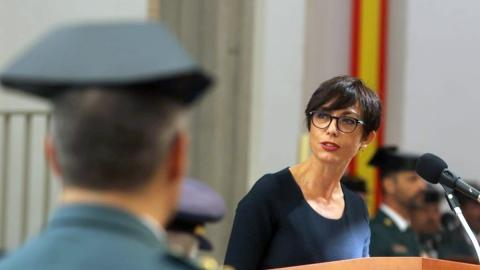 María Gámez, directora de la Guardia Civil