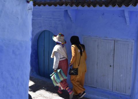Mujeres en Chefchaouen.