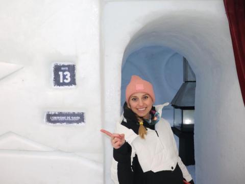 La Suite 13 se inspiró en las obras del arquitecto español Antoni Gaudí.