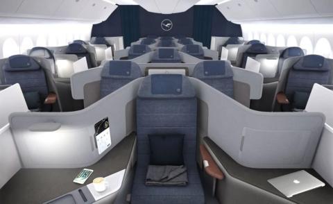 La nueva categoría Business premium de Lufthansa