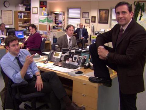 El elenco de 'The Office'
