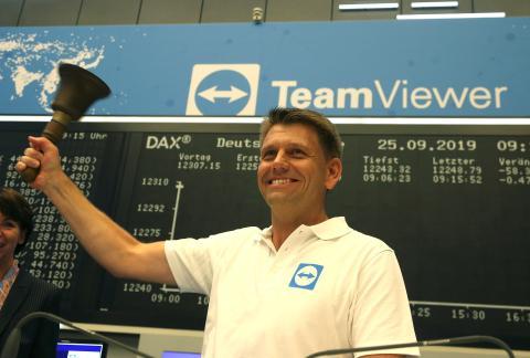 Oliver Steil, CEO de Teamviewer.