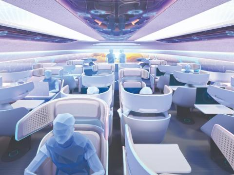 One of the most vocal proponents of new aircraft interiors has been aircraft manufacturers themselves, including Airbus.