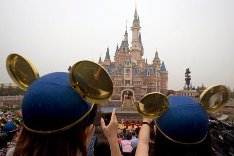 Parque temático de Disney en China