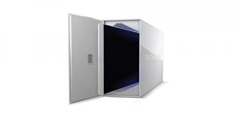 PhoneSoap limpia y desinfecta todo tipo de gadgets  con luz UV mientras se cargan en su interior.