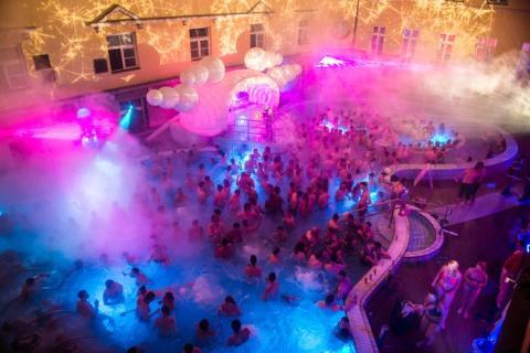 Baños de Lukacs en Budapest