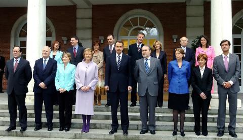 Primer Gobierno de José Luis Rodríguez Zapatero (2004).