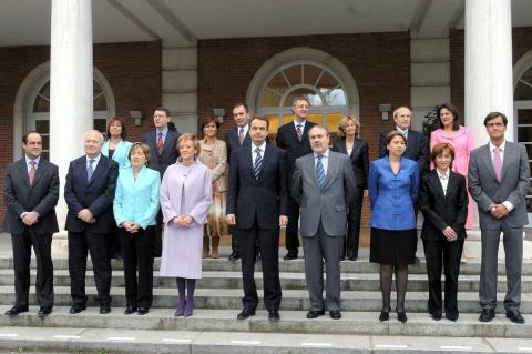 Primer Gobierno de Zapatero.