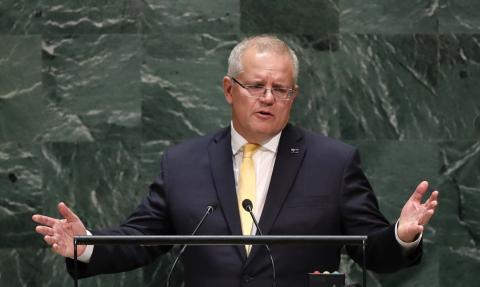 El primer ministro australiano, Scott Morrison.