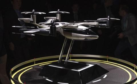 Prototipo Hyundai de taxi volador.