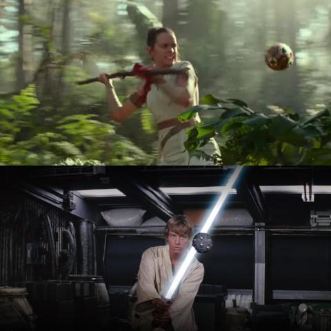 Simplemente no tenían un curso de entrenamiento elegante como Rey.