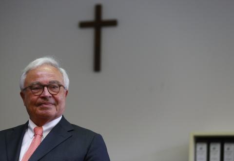 Rolf Breuer, antiguo CEO de Deutsche Bank.