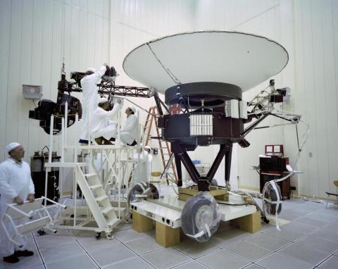 Sagan also worked on the Voyager missions, which launched in the summer of 1977 from Cape Canaveral.
