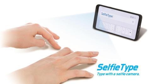 Samsung ha creado un teclado invisible que utiliza la IA para rastrear los movimientos de los dedos