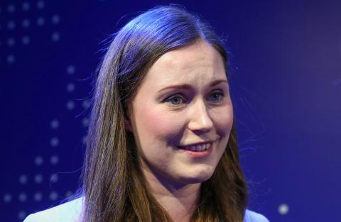 Sanna Marin, primera ministra finlandesa.