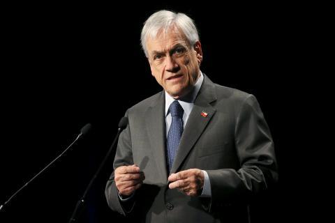 Sebastián Piñera, presidente chileno.