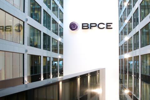 Sede del banco francés BPCE en París