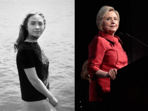 Before she was First Lady, Secretary of State, and the 2016 Democratic candidate, Hillary Clinton was a student at Yale Law.