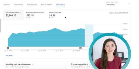"""Captura de pantalla del vídeo de Marina Mogilko """"How much YouTube pays me every month"""" (""""Cuánto me paga YouTube cada mes"""")."""